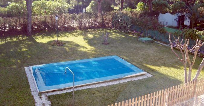 Villa juan - Deco tuin met zwembad ...